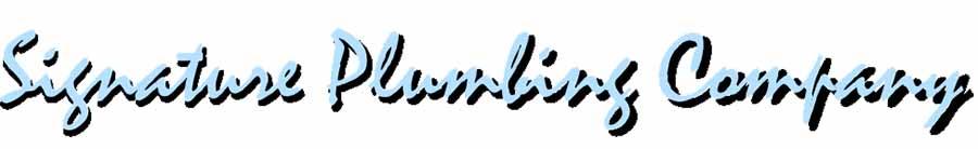 Signature Plumbing Company Logo